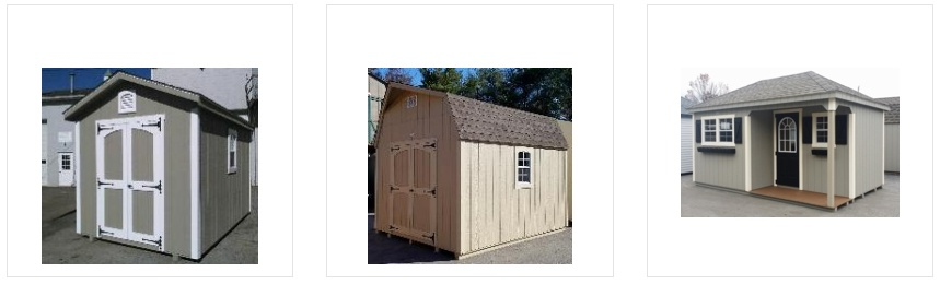 Shed Sizes and Roofs
